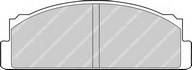 Set placute frana, frana disc FERODO FDB29
