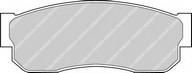 Set placute frana, frana disc FERODO FDB293