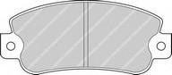 Set placute frana, frana disc FERODO FDB351