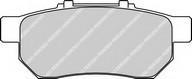 Set placute frana, frana disc FERODO FDB778