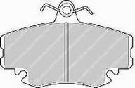 Set placute frana, frana disc DACIA Logan  (LS_) 1.4 (LSOA, LSOC, LSOE, LSOG) (55KW / 75CP)FERODO FSL1781