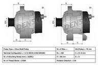 Generator/alternator DENSO DAN505