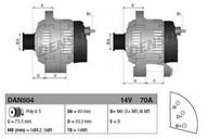 Generator/alternator DENSO DAN504