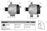 Generator/alternator DENSO DAN509