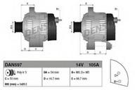 Generator/alternator DENSO DAN597