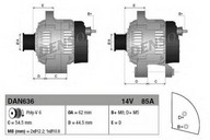 Generator/alternator DENSO DAN636