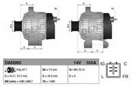 Generator/alternator DENSO DAN985