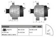 Generator/alternator DENSO DAN520