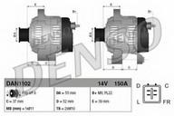 Generator/alternator DENSO DAN1102