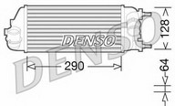 Intercooler, compresor DENSO DIT09115
