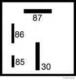Unitate de control, bujii incandescente HERTH BUSS ELPARTS 75614048