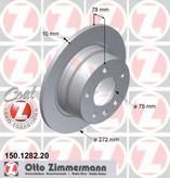 Disc frana ZIMMERMANN 150.1282.20