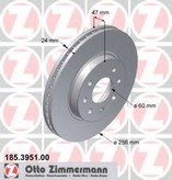 Disc frana ZIMMERMANN 185.3951.00