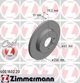 Disc frana ZIMMERMANN 600.1602.20