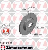 Disc frana ZIMMERMANN 230.2356.20