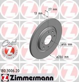 Disc frana ZIMMERMANN 180.3006.20