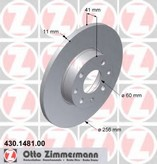 Disc frana ZIMMERMANN 430.1481.00