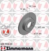 Disc frana ZIMMERMANN 600.1050.20