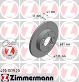 Disc frana ZIMMERMANN 470.1079.20