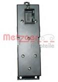 Comutator, macara geam METZGER 0916007