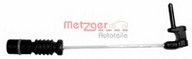 Senzor de avertizare, uzura placute de frana METZGER WK 17-025