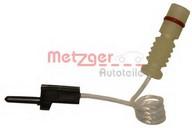 Senzor de avertizare, uzura placute de frana METZGER WK 17-090