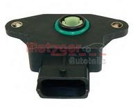 senzor, pozitie clapeta acceleratie METZGER 0904004
