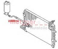 Conducta presiune variabila, aer conditionat METZGER 2360014
