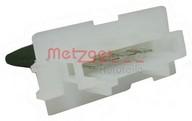 Rezistor, ventilator habitaclu METZGER 0917046