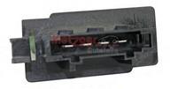 Rezistor, ventilator habitaclu METZGER 0917043