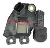 Regulator, alternator METZGER 2390071