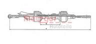 Cablu ambreiaj METZGER 15.208E