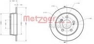 Disc frana METZGER 6110150