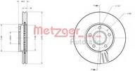 Disc frana METZGER 6110524