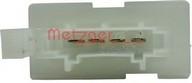 Rezistor, ventilator habitaclu METZGER 0917160