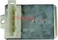 Rezistor, ventilator habitaclu METZGER 0917165