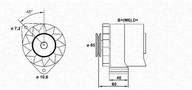 Generator/alternator MAGNETI MARELLI 943356125010