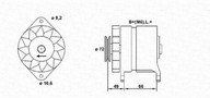 Generator/alternator MAGNETI MARELLI 943356185010