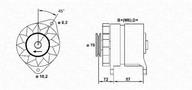 Generator/alternator MAGNETI MARELLI 943356214010