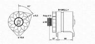 Generator/alternator MAGNETI MARELLI 943356215010