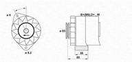 Generator/alternator MAGNETI MARELLI 943356408010