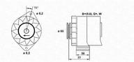 Generator/alternator MAGNETI MARELLI 943356701010
