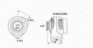 Generator/alternator MAGNETI MARELLI 943356943010