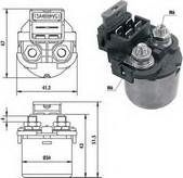 Solenoid, electromotor MAGNETI MARELLI 940113050001