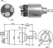 Solenoid, electromotor MAGNETI MARELLI 940113050011