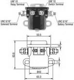Solenoid, electromotor MAGNETI MARELLI 940113050017