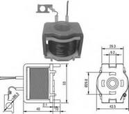 Solenoid, electromotor MAGNETI MARELLI 940113050024