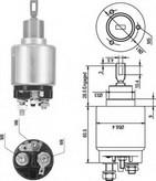 Solenoid, electromotor MAGNETI MARELLI 940113050045