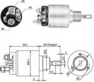 Solenoid, electromotor MAGNETI MARELLI 940113050046