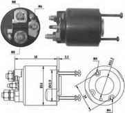 Solenoid, electromotor MAGNETI MARELLI 940113050064